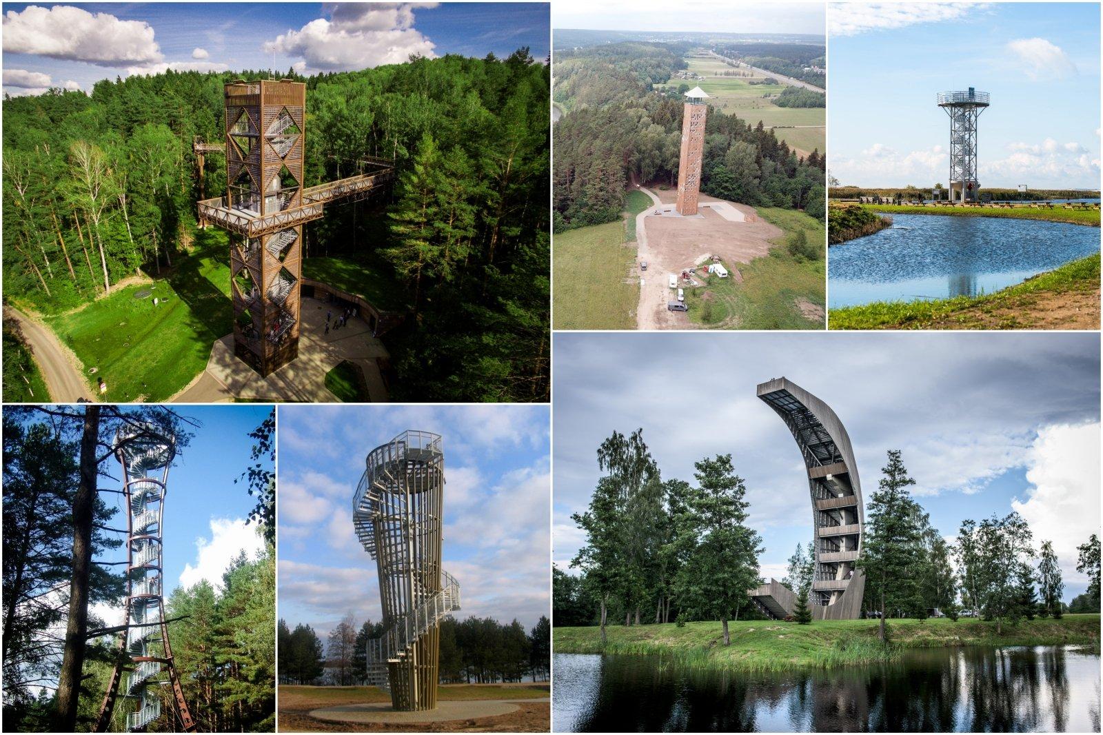 Nemokami įspūdžiai verti milijono: aukščiausi apžvalgos bokštai Lietuvoje - DELFI Kelionės