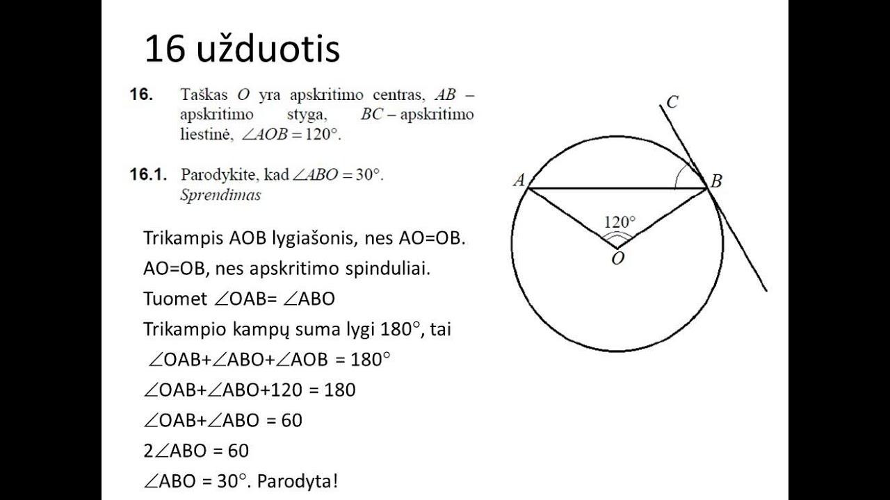 matematikos užduotys apie brokerius