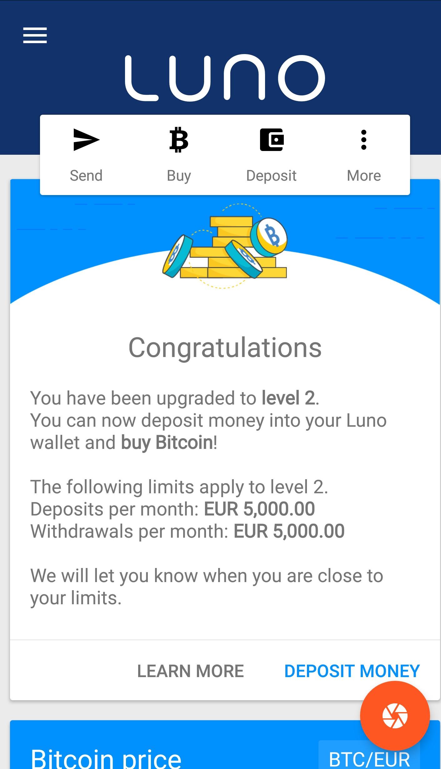 Kaip gauti bitcoin per dieną