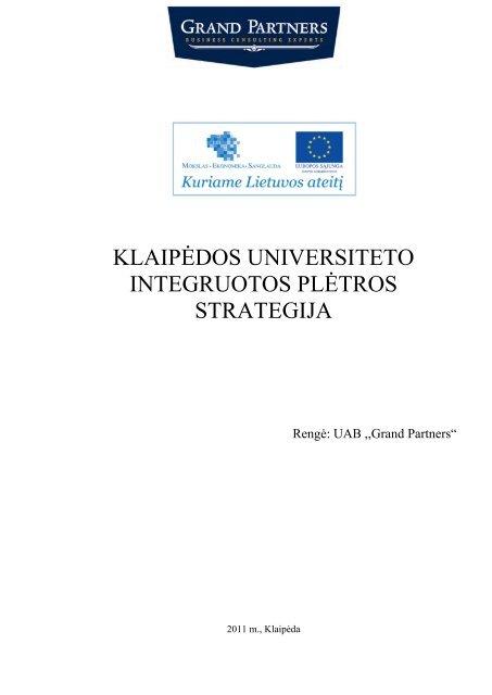 integruota prekybos strategija