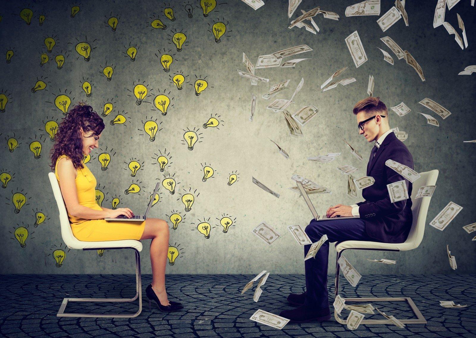 ar įmanoma užsidirbti pinigų keičiantis elektroniniais pinigais?