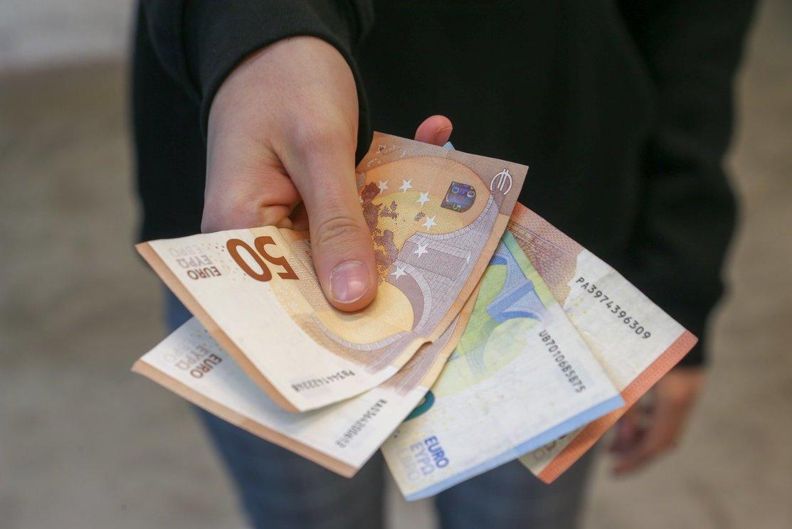 iškeiskite pulsą į eurų