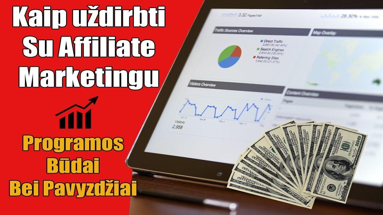 uždirbti iš partnerių programų, uždirbti internete