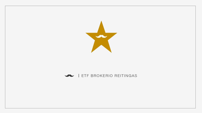 Geriausias brokeris investavimui į ETF Lietuvoje 2019